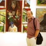 У картины М.В. Красильниковой в Манеже на юбилейной выставке МОСХ