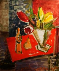 Ирина-Покладова-Тюльпаны-2009-г.-холст-масло-60х50