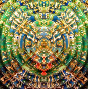 Александра Загряжская. Священная геометрия. Рисунок 5 Волна. Авторский принт