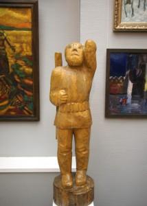 А.Д. Рябичев «Охотник» 1987 г. дерево