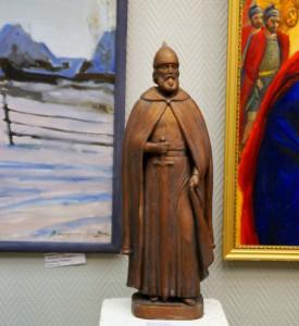 В.А. Черменев «Князь Борис Волоколамский» 2014 г. гипс тонированный