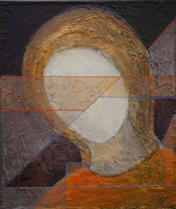 МОСХ на Беговой. Е.Г. Болотских Портрт (фрагмент) 2013 г. холст, масло