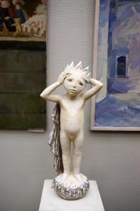 Н.А. Замахина «И взошла звезда» 2014 г. керамика