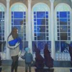МОСХ на Беговой. Ю.В. Просецкая Чистопрудный бульвар 2014 г. холст, масло