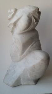 Скульптор Владимир Чибисов-Горный ветер