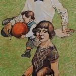 Леонид Козлов Марина Цветаева и Сергей Эфрон с детьми